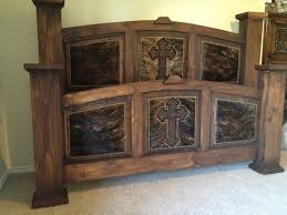 Best Western Decor Images On Pinterest Western Furniture - Cowhide bedroom furniture
