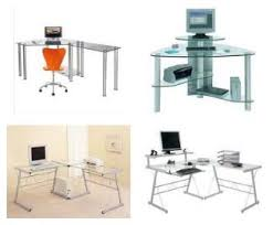 Glass Corner Desks Interior Design Tips Smart 3 X Black Glass Corner Desks