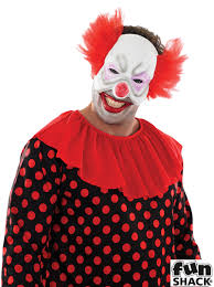 scary clown halloween mask scary clown mens fancy dress halloween circus joker spooky adults