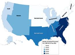 United States Map By Region by Us Military Is Not Representative Of Country Business Insider