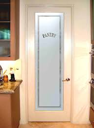 3 Panel Interior Doors Home Depot Decor White Wooden Pantry Doors Home Depot With Frosted Glass For