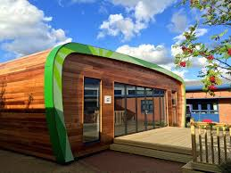 eco pods eco classrooms glamping living and garden pods