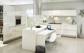 meuble cuisine blanc laqué meuble de cuisine blanc brillant fabulous cuisine blanc brillant et