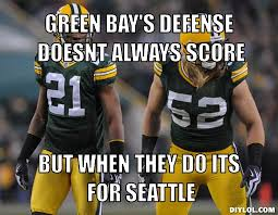 Funny Green Bay Packers Memes - green bay packers memes green bay s defense doesnt always score