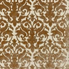 Scalamandre Upholstery Fabric Scalamandre Venezia Silk Velvet Jacquard Fabric Sable