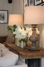 sofa attractive decorate sofa table behind couch pottery barn