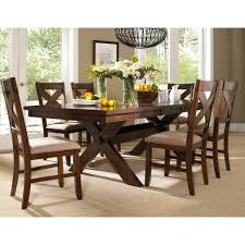 isabell 7 piece dining set modern farmhouse colors and chairs