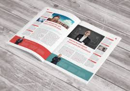 free newsletter template stock indesign design pinterest