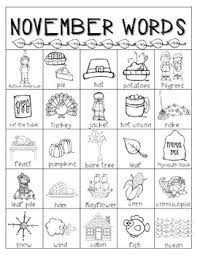 thanksgiving word bank and cards freebie by the phonics phenomenon