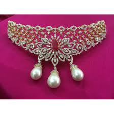 jewelry gold diamond necklace images Gold diamond necklace from kothari jewellery south india jewels jpg