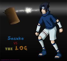 sasuke vs 29 evil sasuke vs the log by sapphireluna on deviantart