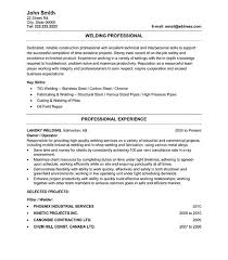 Welder Resume Sample by Chic Design Welding Resume 10 Resume Sample Template Resume Example