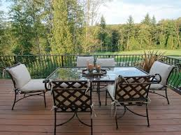 Cast Aluminum Patio Tables Cast Aluminum Patio Furniture Hgtv