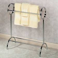 Free Standing Towel Stands For Bathrooms Startling Free Standing Bathroom Towel Rack Free Standing Towel