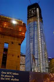 nyc nyc one world trade center officially becomes the tallest