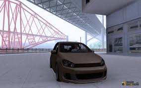 volkswagen golf mk6 vw golf mk6 for gta san andreas