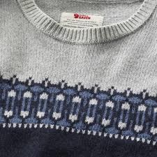 övik scandinavian sweater fjällräven