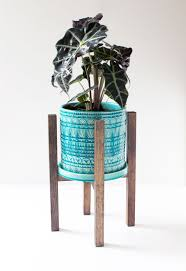 indoor modern planters simple and sweet diy modern planter stand diy plant stand plant