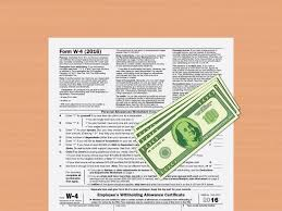 W 4 Withholding Table 4 Easy Ways To Calculate Payroll Taxes With Pictures