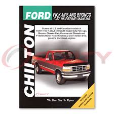 ford f 150 chilton repair manual eddie bauer special xl xlt lariat
