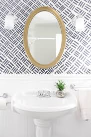 small bathroom makeover the full before after with free handed bath ideas