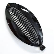 banana comb fashion women banana hair comb clip fish folder fishtail clip