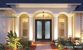 all glass front door entry glass doors sans soucie art glass
