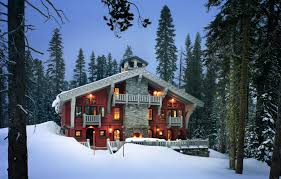 mountain chalet home plans alpine ski chalet house in snow architect malick