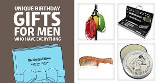 gifts for 49 unique birthday gifts for men who everything dodo burd