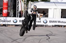 bmw motorcycle 2015 stunt rider chris pfeiffer announces retirement bmw motorcycle