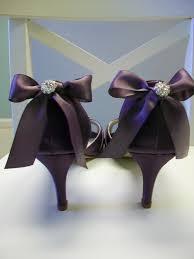 wedding shoes etsy purple wedding shoes purple bows peep toe