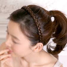 braided hair headband hot braided hair headband hair headwrap brown in hair