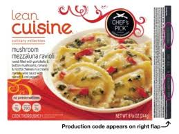 cuisine usa lean cuisine recall glass found in ravioli