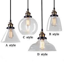 vintage glass pendant light glass pendant light