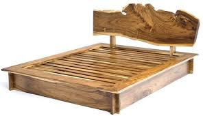 Wood Log Bed Frame Wood Bed Frames Rustic Bedroom Furniture Log Bed Mission