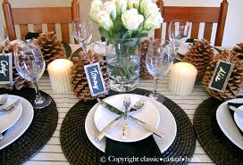cool rustic table settings 56 rustic table settings for christmas