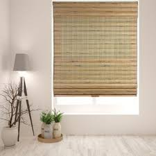 Bamboo Curtains For Windows Bamboo Blinds Shades You Ll Wayfair