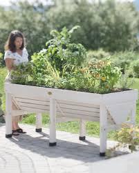Whitewash Bench Vegtrug Patio Garden With Whitewash Finish