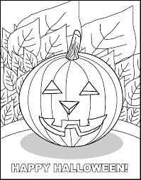 jackolantern free coloring pages for kids printable colouring