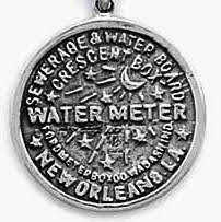water meter new orleans jewelry by rhonda sterling silver n and o wedding cake charms