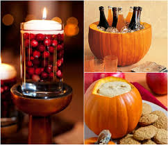 decorations colorful thanksgiving easy diy centerpiece idea