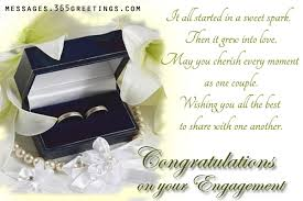 congratulations on engagement card engagement wishes 365greetings