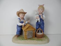 home interior denim days figurines 28 images vintage homco