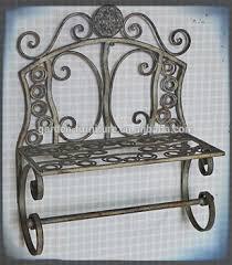 Wrought Iron Bathroom Shelves Wholesale Wrought Iron Handicrafts Home Accessory Storage Decor