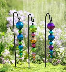 image result for make hanging garden ornaments garden mirrors