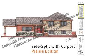side split with carport jw lipstick designs sidesplit carport prairie