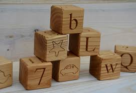 58 90 usd all in 1 26 wooden alphabet blocks abc wood