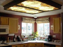 Kitchen Ceiling Light Fixtures Fluorescent Fluorescent Kitchen Light Fixture Attractive Kitchen Light Box And