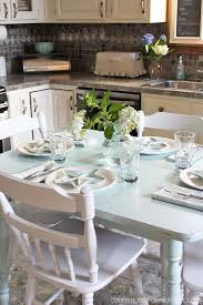 How To Paint A Table How To Paint A Laminate Kitchen Table Confessions Of A Serial Do