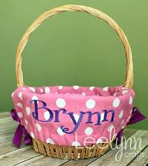 personalized easter basket liner personalized easter buckets dynamicpeople club